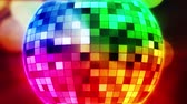 galabal : Disco bal spinnen HD 1080 stock video animatie Stockvideo