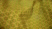 rendilhado : Close up of Sarong fabric delicate at Thailand stripes pattern, Backgrounds