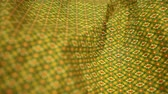 divat : Close up of Sarong fabric delicate at Thailand stripes pattern, Backgrounds