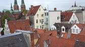 çatılar : Luebeck, View of the old city.