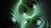 "eclaire : Une animation morphing ""Cosmic recursive fractal flame""."