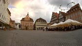klasik : SCHWAEBISCH GMUEND, GERMANY - JUNE 26: View on the center of the city on June 26,2017 in Schwaebisch Gmund, Germany.
