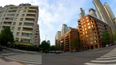 arjantin : BUENOS AIRES, ARGENTINA – SEPTEMBER 7: View of architecture in Puerto Madero on September 7, 2016 in Buenos Aires, Argentina.