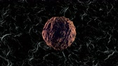 oncology : 3D rendered Animation of a mutating and spreading cancer cell. Stock Footage