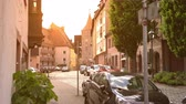 bayrisch : NUREMBERG, GERMANY - CIRCA MAY 2019: View on daily life in the centre of the city circa May 2019 in Nuremberg, Germany.