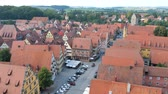 DINKELSBUEHL, GERMANY - CIRCA AUGUST 2019: View over the city circa August 2019 in Dinkelsbuehl, Germany.