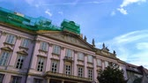 BRATISLAVA, SLOVAKIA - CIRCA AUGUST 2019: View on historic Architecture in the famous old town circa August 2019 in Bratislava, Slovakia.
