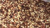 nozes : nuts close-up