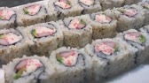 japon : sushi closeup