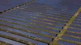 panel solar : Aerial view of solar farm in South of France
