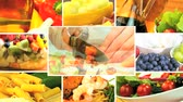 уксус : Montage collection of healthy fresh food for a modern lifestyle