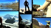 independence : Montage collection of people fulfillig their ambitions Stock Footage