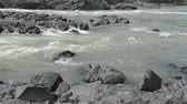 kamie�� : Yelandin rapids on the Katun River. Chemal district, the Altai Mountains, Siberia, Russia. Live sound. Wideo