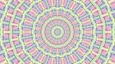 psychedelic colors : Colorful looping kaleidoscope sequence. Abstract motion graphics background.