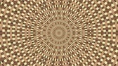 Wicker pattern. Colorful looping kaleidoscope sequence. Abstract motion graphics background. Vídeos