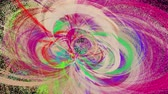 şeffaflık : Abstract motion background with alpha channel, loopable Stok Video