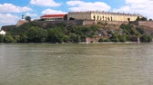 serbia : Petrovaradin fortress in Novi Sad, Serbia - dating from the late 17th century. Stock Footage