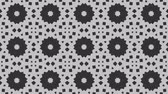 monocromático : Looping animation of gray surface transition effect as motion graphic background or copy space Vídeos
