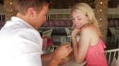 ask : Man Proposing To Woman In Restaurant