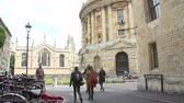 cyklus : View Of The Oxford Radcliffe Camera From Brazenose Lane