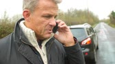 dolly : Driver Broken Down Calling Recovery Service On Mobile Phone