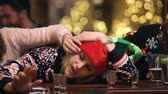 svetr : Drunk Woman In Bar During Christmas Drinks With Friends