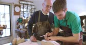 szewc : Apprentice In Bespoke Shoemakers Drawing Template For Last