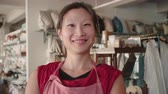 prezent : Portrait Of Female Owner Of Gift Store Shot On R3D