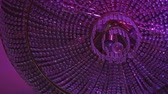 swarovski : Crystal chandelier. Stock Footage