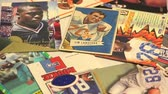 рамка : Retro Football Cards These football cards in vintage style.