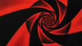 radial : Valentines Day Red Rose Design Swirl Animation Background . Perfect seamless loop background and special effect psychoactive footage in full color of rotational design and pattern that create a spinning optical illusion vortex that can have mesmerising hy