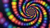транс : Candyland Rainbow Color Vortex Animation Background . Perfect seamless loop background and special effect psychoactive footage in full color of rotational design and pattern that create a spinning optical illusion vortex that can have mesmerising hypnotic