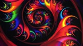 pençe : Fractal Red Vortex Spinning Background. Perfect seamless loop background and special effect psychoactive footage in full color of rotational design and pattern that create a spinning optical illusion vortex that can have mesmerising hypnotic trance and se