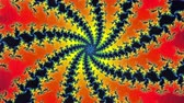 транс : Mandelbrot Fractal Spin Circular  Animation Background .  Perfect seamless loop background and special effect psychoactive footage in full color of rotational design and pattern that create a spinning optical illusion vortex that can have mesmerising hypn