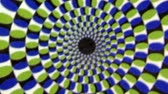radial : Vintage Green Blue Whirlpool Spiral  Animation Background . Perfect seamless loop background and special effect psychoactive footage in full color of rotational design and pattern that create a spinning optical illusion vortex that can have mesmerising hy
