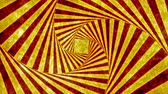 magický : Funky Square Box Rotational Swirl  Animation Background . Perfect seamless loop background and special effect psychoactive footage in full color of rotational design and pattern that create a spinning optical illusion vortex that can have mesmerising hypn