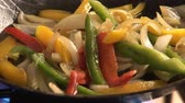 stirfry : Sautéing vegetables in a frying pan