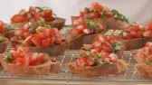 toscano : Bruschetta (toasted bread topped with tomatoes, Italy)