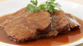 совместный : Beef pot roast with gravy