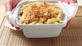 pasta dishes : Lobster macaroni and cheese (Maine, USA)