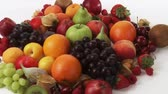 diverse : Assorted fruit Stock Footage