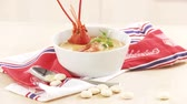 aperitivo : Cream of lobster soup