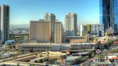 gündüz : Time-lapse panning shot of Las Vegas cityscape. This shot was taken during the day.