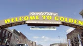 pessoal : Golden, Colorado - August, 2013: Static view of the Welcome to Golden Colorado Sign.
