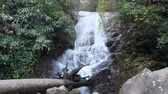 Sirithan  Waterfall or Namtok Siriphum, Chom thong, Chiang mai, Thailand. Stok Video