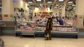 distribuidor : Russia, Petropavlovsk-Kamchatsky, December 11, 2015 Retail food market seafood and fish delicacies to suit different tastes Vídeos