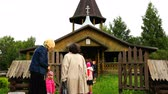 batismo : people go to the Orthodox Church