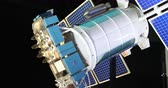 misja : Model of the Earth s satellite in the space. Wideo