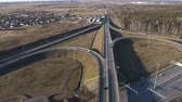ring road : top View on ring road in Sunny day.