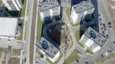 детский : flying around the residential complex with new infrastructure.